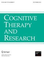 Cognitive Therapy and Research 5/2011