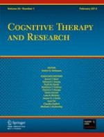 Cognitive Therapy and Research 1/2012