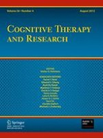 Cognitive Therapy and Research 4/2012