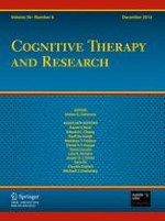 Cognitive Therapy and Research 6/2012
