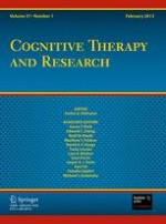 Cognitive Therapy and Research 1/2013