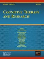 Cognitive Therapy and Research 2/2013