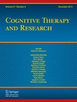 Cognitive Therapy and Research 6/2013