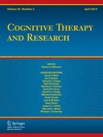 Cognitive Therapy and Research 2/2014