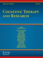 Cognitive Therapy and Research 3/2014