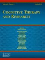 Cognitive Therapy and Research 5/2014