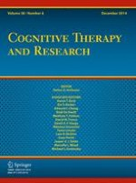 Cognitive Therapy and Research 6/2014
