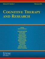 Cognitive Therapy and Research 1/2015