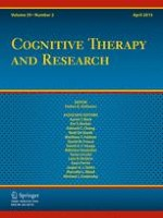 Cognitive Therapy and Research 2/2015