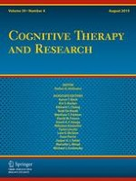 Cognitive Therapy and Research 4/2015