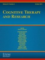 Cognitive Therapy and Research 5/2015