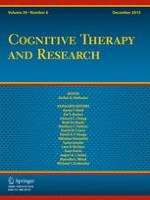 Cognitive Therapy and Research 6/2015