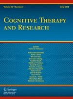Cognitive Therapy and Research 3/2016