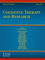 Cognitive Therapy and Research 4/2016