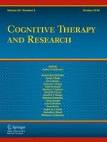 Cognitive Therapy and Research 5/2016