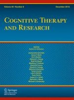 Cognitive Therapy and Research 6/2016
