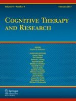 Cognitive Therapy and Research 1/2017