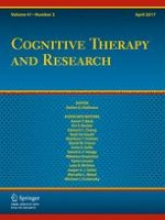 Cognitive Therapy and Research 2/2017