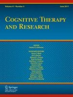 Cognitive Therapy and Research 3/2017