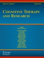 Cognitive Therapy and Research 5/2017