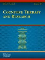 Cognitive Therapy and Research 6/2017