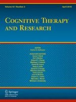 Cognitive Therapy and Research 2/2018
