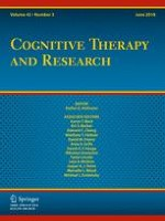 Cognitive Therapy and Research 3/2018