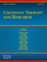 Cognitive Therapy and Research 4/2018