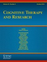 Cognitive Therapy and Research 5/2018