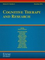 Cognitive Therapy and Research 6/2018