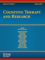 Cognitive Therapy and Research 1/2019