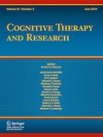 Cognitive Therapy and Research 3/2019