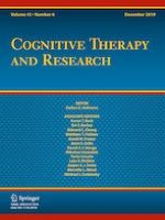 Cognitive Therapy and Research 6/2019