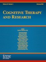 Cognitive Therapy and Research 1/2020