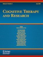 Cognitive Therapy and Research 3/2020
