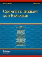 Cognitive Therapy and Research 1/2021