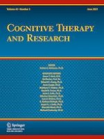 Cognitive Therapy and Research 3/2021
