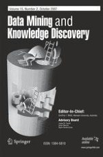 Data Mining and Knowledge Discovery 2/2007
