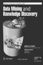 Data Mining and Knowledge Discovery 3/2007