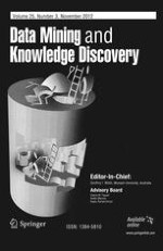 Data Mining and Knowledge Discovery 3/2012