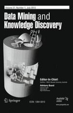 Data Mining and Knowledge Discovery 1/2013