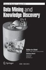 Data Mining and Knowledge Discovery 1/2014