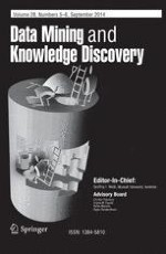 Data Mining and Knowledge Discovery 5-6/2014