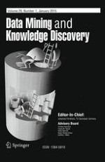 Data Mining and Knowledge Discovery 1/2015