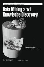 Data Mining and Knowledge Discovery 1/2017