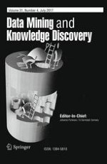 Data Mining and Knowledge Discovery 4/2017