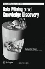 Data Mining and Knowledge Discovery 4/2018