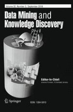 Data Mining and Knowledge Discovery 5/2018