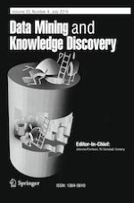 Data Mining and Knowledge Discovery 4/2019