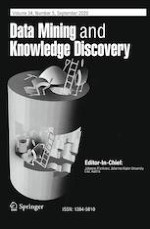 Data Mining and Knowledge Discovery 5/2020